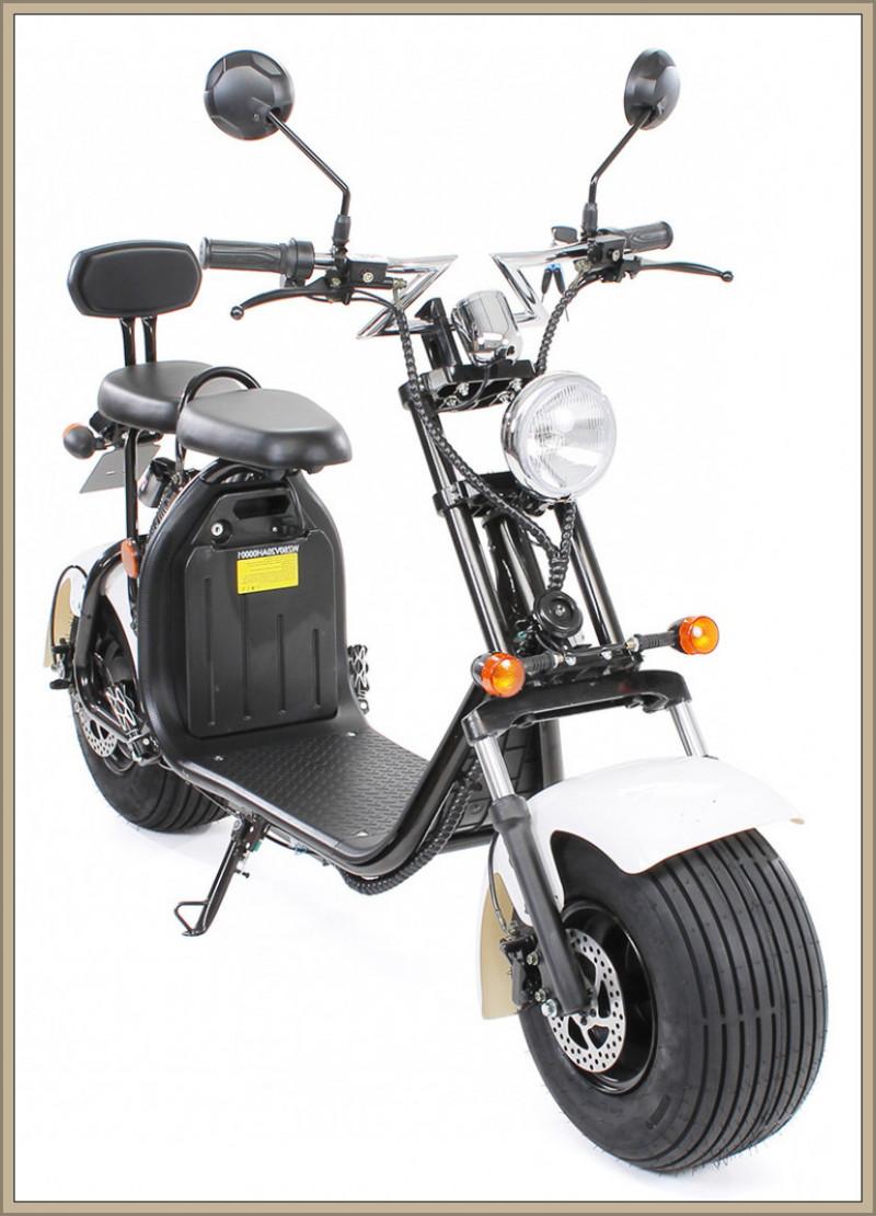 elektro scooter style harley citycoco franz freude. Black Bedroom Furniture Sets. Home Design Ideas